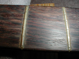 Divets and flat spots in the frets